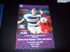Queens Park Rangers v West Ham United, 1994/95 [FA]
